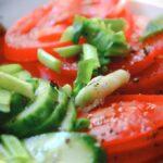 Овощной салат простой рецепт