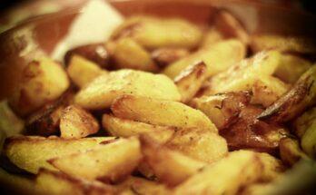 Жареный картофель простой холостяцкий рецепт