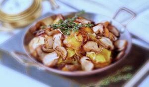 Картошка с грибами 2 простых рецепта